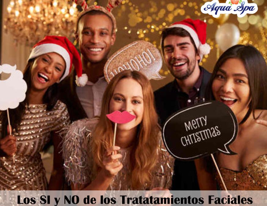 LOS SI Y NO DE LOS TRATAMIENTOS FACIALES ANTES DE UNA FIESTA !